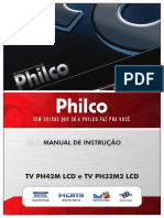 Manual TV Philco PH42M