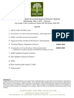 DOA Board Meeting Agenda Packet May 3, 2017