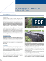 Comparison of the Effectiveness of Deep Soil Mix Columns