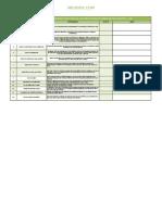 Check List Formação e Adequação Da Cipa
