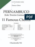 Choro - Joao Pernambuco - 11 Choros Famosos