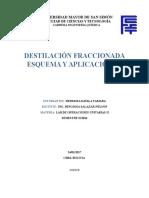DESTILACIÓN FRACCIONADA ESQUEMA Y APLICACIONES.docx