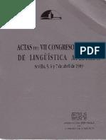 actas del ingreso de linguistica