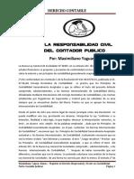 La Responsabilidad Civil Del Contador Publico-Alumno