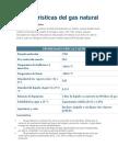propiedades quimicas del gas natural