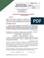 Guia-preparación de Un Compuesto de Coordinación k3 [Fe(c2o4)3]3h2o.