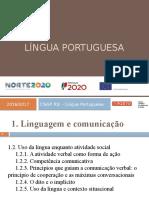 1.2 Uso Da Língua Enquanto Atividade Social