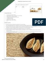 Pechugas de Pollo Rellenas de Lacón en Crock Pot