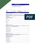 Matemática Financeira - (3) - AV1 - 2012.3
