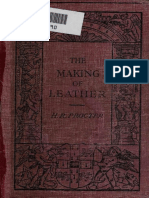 The Making of Leather by Procter 1914