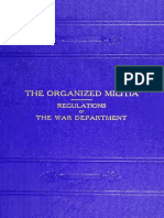 Regulations for the Organized Militia, Under the Constitution and the Laws of the US (1911)