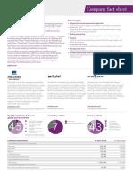 Company Factsheet March 2016
