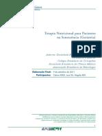 Terapia Nutricional Para Pacientes Na Senescencia Geriatria(1)