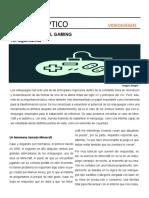 A Replantear El Gaming (Reportaje)