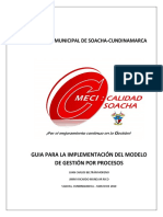 Guía Para La Implementación Del Modelo Gestión de Procesos