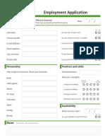 Employee Questionnaire