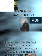 Biography of St. Francis Xavier