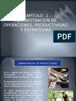 PPT ADMINISTRACION DE OPERACIONES PRODUCTIVIDAD Y ESTRATEGIAS CAP 1