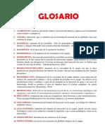Glosario Hematología