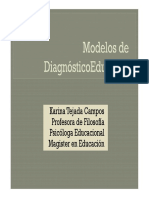 6 Modelos de Diagnóstico Educativo