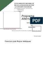 Programa Alternativo 3o Primaria