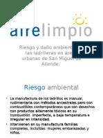 aspectostcnicosdelacontaminacinporladrilleras-121110170557-phpapp01.pps