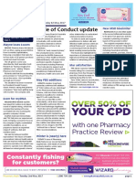 Pharmacy Daily for Tue 02 May 2017 - Code of Conduct update, DAA services PSA review, Winter Spotlight, Guild Update and much more.
