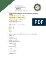 Taller de Variable Compleja I