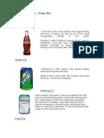 Marketing Mix COKE