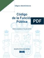 BOE-003 Codigo de La Funcion Publica