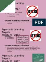 week 11 agenda   lt