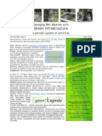 Managing Wet Weather with Green Infrastructure, June 2009 Bulletin
