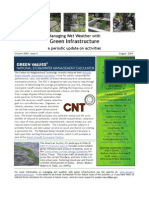 Managing Wet Weather with Green Infrastructure, August 2009 Bulletin