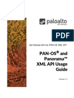 PAN‐OS® and Panorama™ XML API Usage Guide Version 7.1