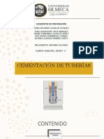 Cementacion de Tuberias