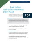 An Interview With EBays Devin Wenig