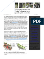 Managing Wet Weather with Green Infrastructure, March 2010 Bulletin
