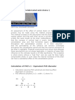 Calculation of Band Drains