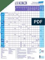 Salud Vacunas Calendario Nacional Vacunacion 2017