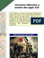 Revoluciones Liberales y Nacionales