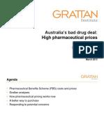 Australia s Bad Drug Deal - Presentations Public Version190313