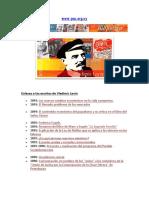Enlaces a Escritos de Lenin de 1893 a 1923