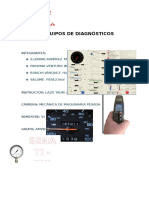 Trabajo de Equipos e Instrumentos de Diagnostiocso