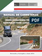 Manual de Carreteras - Especificaciones Tecnicas Generales para Construcción - EG-2013 - (Versión Revisada - JULIO 2013) 01-04-2017.pdf