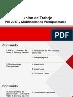 Presupuesto 2017 GG3 y Notas Modificatorias.pptx