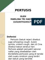 Ppt Pertusis Lina 1