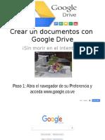 Crear Documentos Con Google Drive