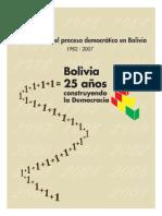 1. Bolivia 25 años Construyendo la Democracia.pdf