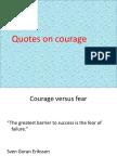 Courage Ethics