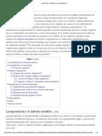Superstición - Wikipedia, La Enciclopedia Libre
